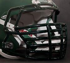 JUSTIN TUCK style Riddell Revolution SPEED Football Helmet Facemask - DARK GREEN