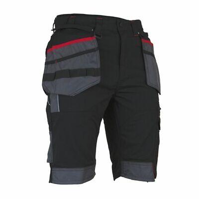 "Mens Shorts Bermuda Work Decorators Work Everyday White Black Grey 28/""-43/'/'"