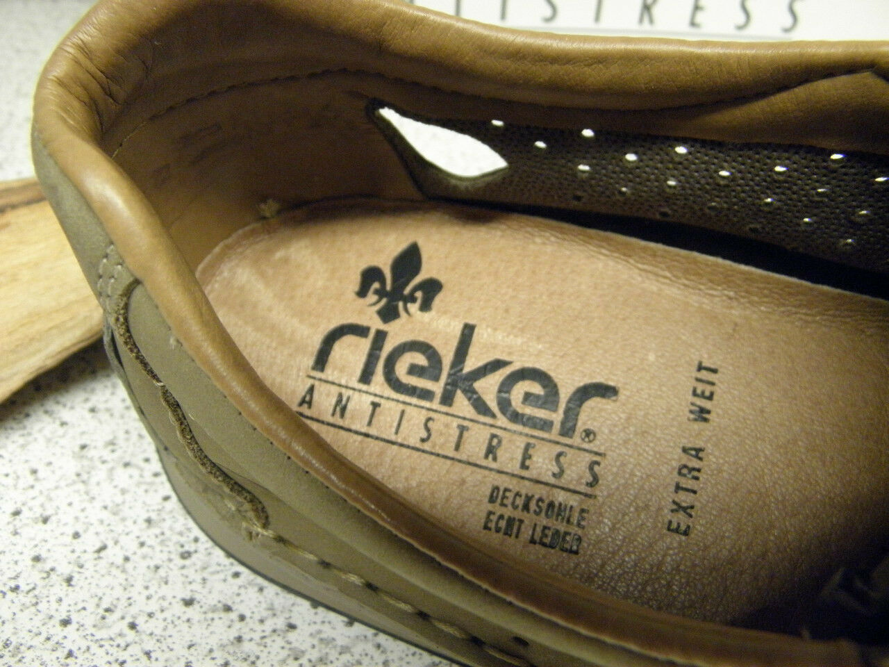 Rieker ® SALE, Top  Slipper   Top SALE, Preis + gratis Premium - Socken 05286-64 (R257) a3db71