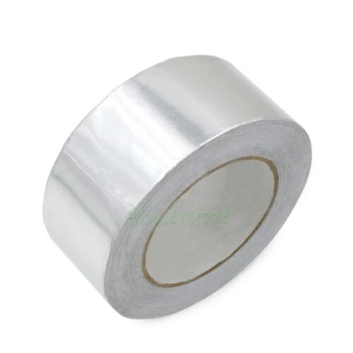 60mm x 33M 108ft Adhesive Aluminum Foil Tape Shielding Anti Radiation Joint Duct