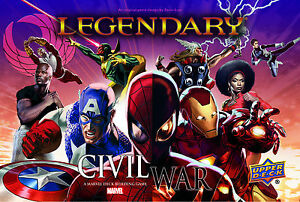 NEW Upper Deck Marvel Legendary Civil War Expansion Big Box Set