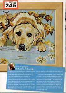 CROSS STITCH CHART POLLYANNA PICKERING DESIGN CHART LABRADOR DOG CHART