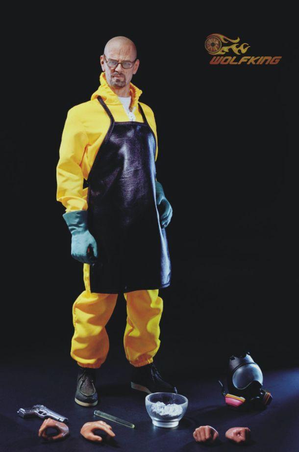 Breaking Bad Walter blanc Heisenberg Chemical poisoning teacher 1 6 WOLFKING
