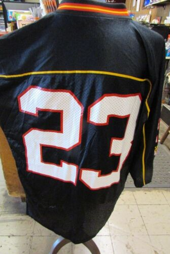 Maryland Terrapins Terps Black Under Armour Football Jersey #23 Mens L UA NWT