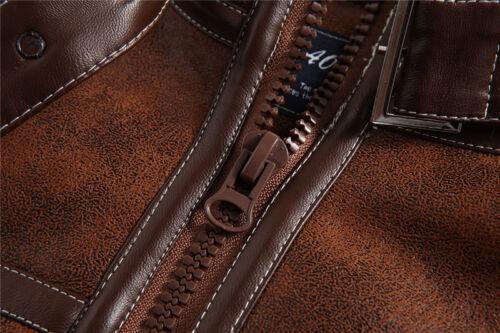Men Jacket Resident Evil 4 Leon S Kennedy Slim Cosplay Coat Leather Casual Ske15