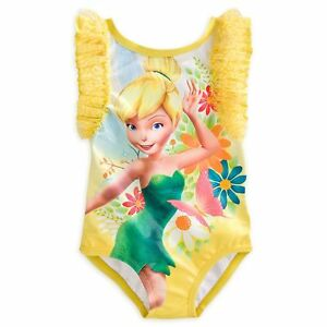 2244d9fa51bab Image is loading Disney-Store-Princess-Tinker-Bell-One-Piece-Swimsuit-
