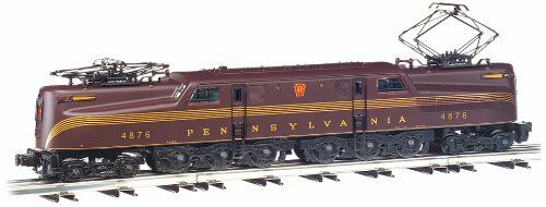 Bachmann 65302 HO GG1 Electric DCC Sound Equipped PRR Tuscan rosso 5 Stripe  4913