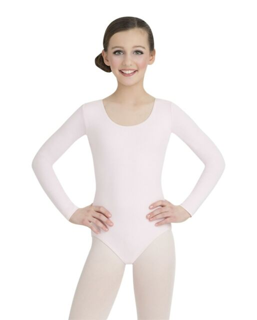 5749899be05b Buy Capezio Little Girls  Classic Long Sleeve Leotard Pink Toddler 2 ...