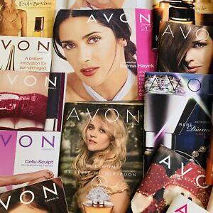 Avon-Catalogs-2002-2004-2005-2006-2009-2010-Campaign-Books-Lot-of-20