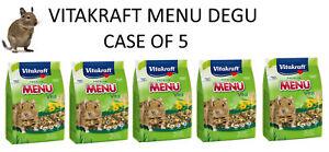 VITAKRAFT-DEGU-5-X-600G-BAG-COMPLETE-FOOD-FEED-DIET-BULK-DEAL-3KG-TOTAL-25143
