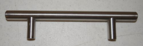 Lot of 2 NEW Amerock Contemporary Stainless Steel Bar Pulls BP19011-SS