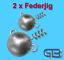 2-x-Federjig-Schraub-Jigkopf-8g-100g-Jighaken-fuer-Gummifische-Spiral-Jig Indexbild 1