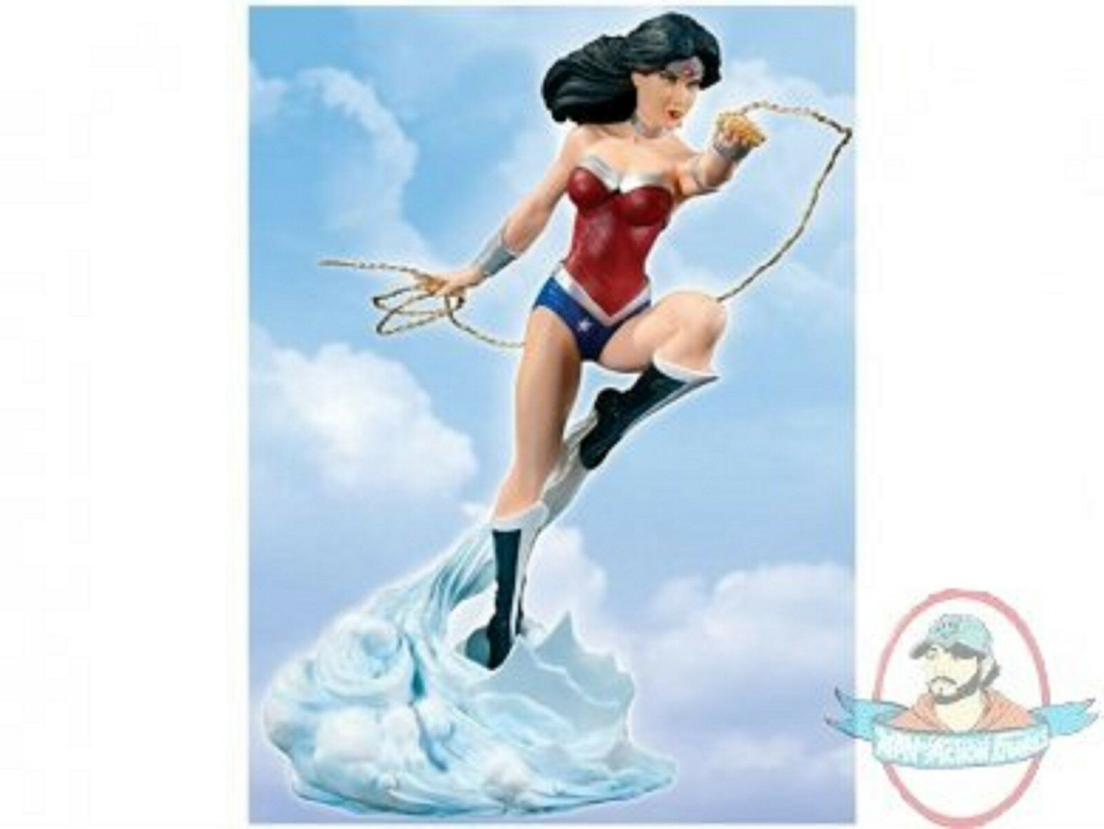 New 52 Cover Girls of the DC Universe Wonder Woman Version 2 Statue DC Direct