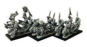 Warmaster - Saurus Cold One Riders - 10mm
