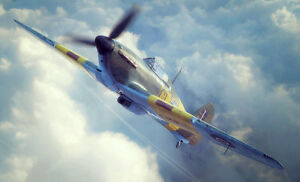 FLY-1-32-Kit-de-modelismo-32019-Hawker-Hurricane-mk-iib-C