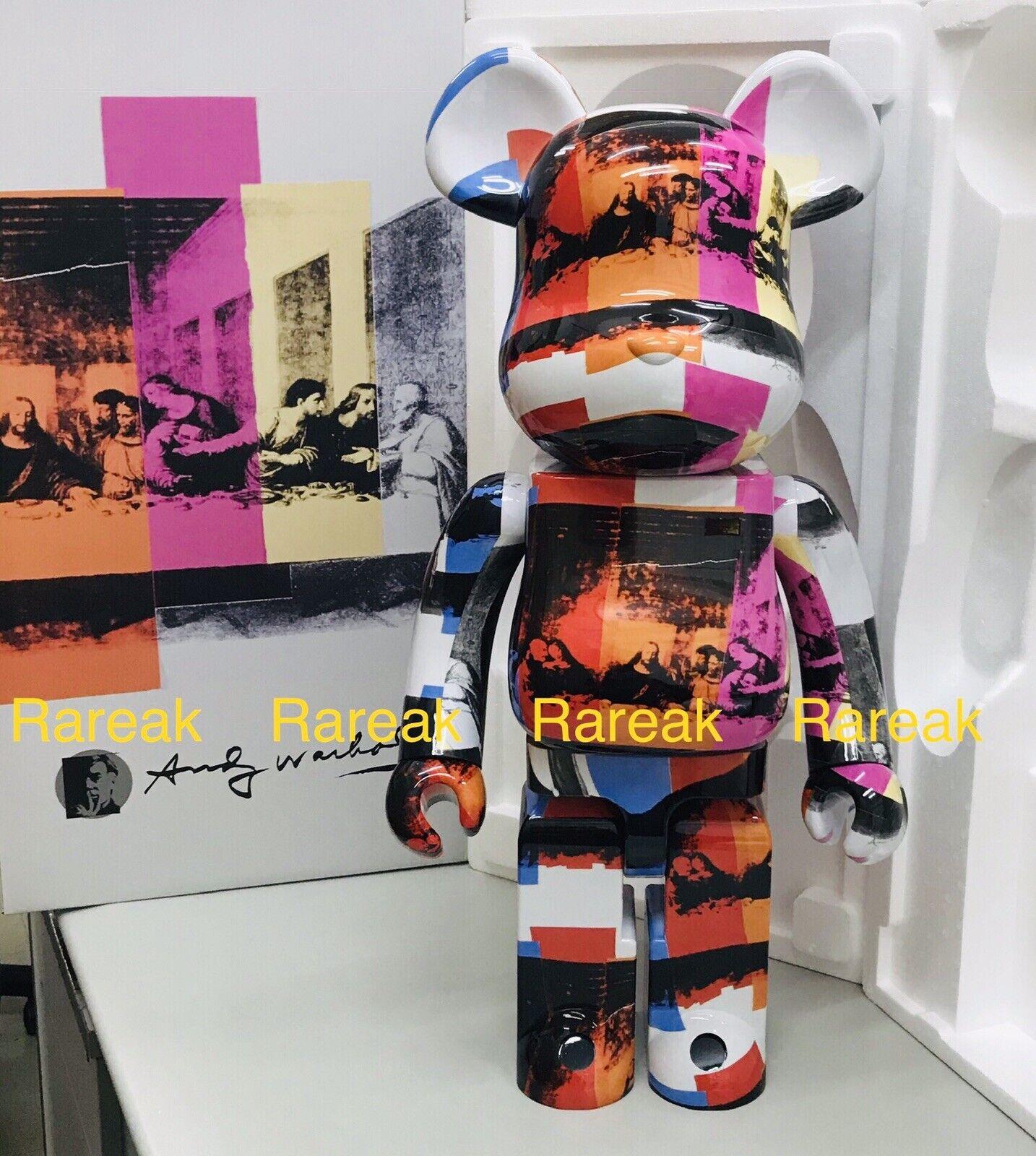 Medicom Be@rbrick 2020 ey Warhol ULTIMA CENA 1000% orsoBRICK 1pc