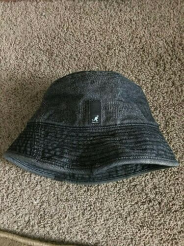 Kangol Denim Bucket Hat- Size Large
