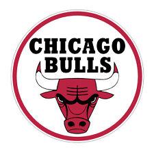 Sticker plastifié CHICAGO BULLS NBA Basket - 9cm x 9cm