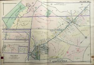1909, MONTGOMERY COUNTY, PA, SPRINGFIELD TWP