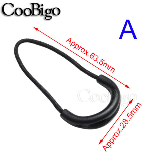 Zipper Pull Slider Rope Cord for Outdoor Windbreaker Backpack Bag Sewing Parts