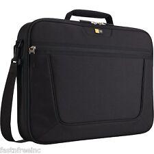 "Case Logic 17.3"" Inch Laptop Case Portable Travel Strap Black Bag Organizer 17"""