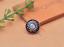 10X-Silver-Tone-Flower-Leather-Craft-Bag-Belt-Purse-Decor-Turquoise-Conchos-Set miniature 17