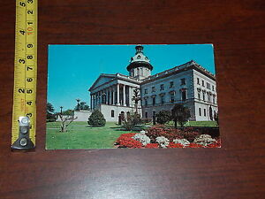 POSTCARD RARE OLD VINTAGE STATE HOUSE COLUMBIA SOUTH