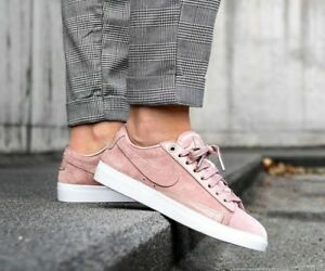 Womens Nike Blazer Low Lx Size 4 5 Eur 38 Aa2017 604 Particle Pink Silt Red Ebay