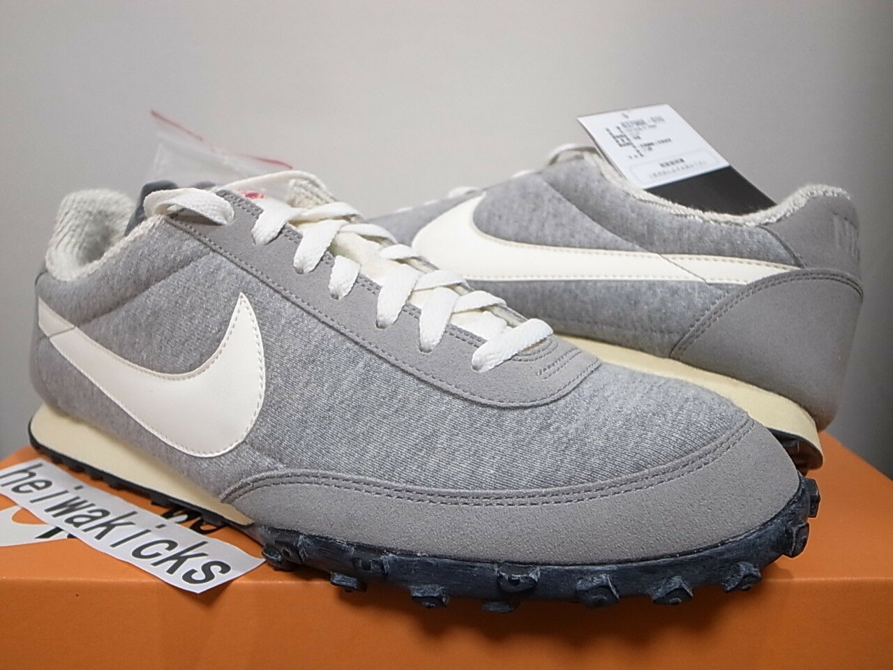 2013 LOOPWHEELER x NIKE WAFFLE RACER PRM MEDIUM GREY JAPAN ONLY637988-010 sz 11