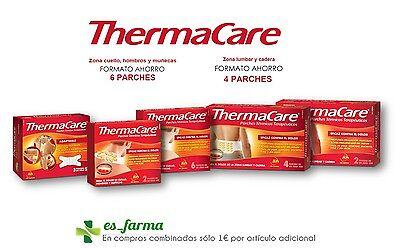 parches de calor thermacare precio