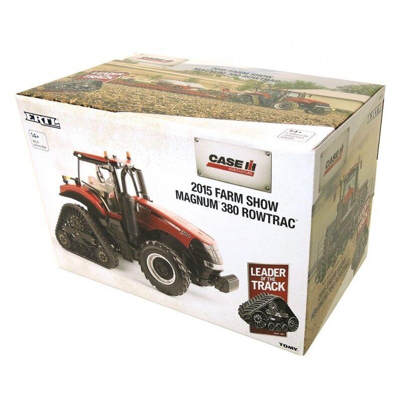 ERTL CASE IH MAGNUM 380 ROWTRAC TRACTOR 1 32 SCALE - 2015 FARM SHOW