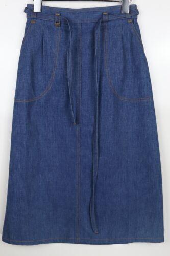 Vintage Levi's Women's Size 10 Denim Blue Jean Wra
