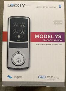 Lockly-7S-Bluetooth-Entry-Deadbolt-Edition-Touchscreen-Smart-Door-Lock-PGD7S