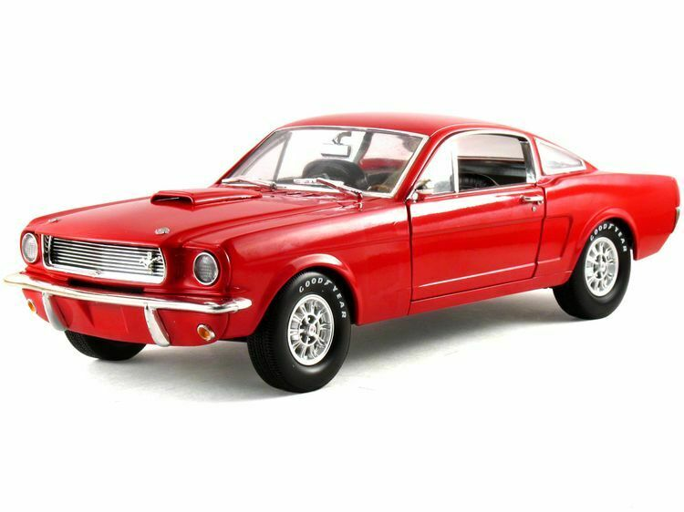 1 18 Scale 1966 Shelby Fastback GT350 rot Metal Diecast Shelby Collectibles