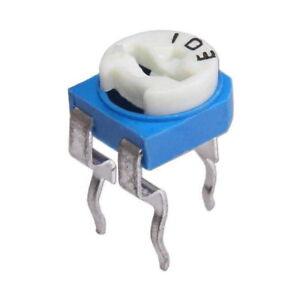 RM065-Potentiometer-100-Ohm-1K-4-7K-10K-47K-100K-Ohm-Om-Trimmer-Trimmpoti-RM-065