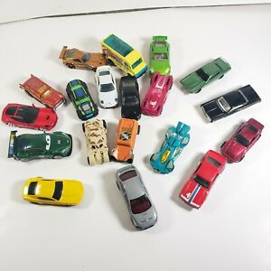 Hot-Wheels-Lote-De-19-Autos-Diecast-1-64-Matchbox-Maisto-Porsche-AMC-Camaro-Suelto