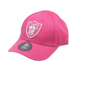 best sneakers ce119 e357d Details about Oakland Raiders Official NFL Apparel Toddler Girls Size (2-4)  OSFM Pink Hat Cap