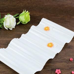 Wave Flowers Former Set Flower Dry Mat Plastic Cake Fondant Sugarcraft Decor DIY
