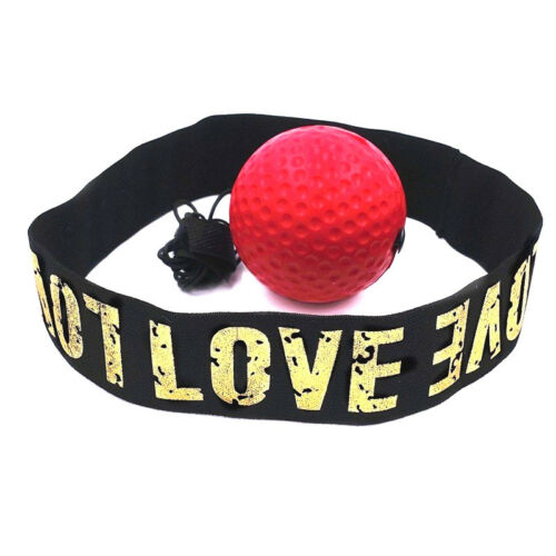 Boxing Punch Exercise Fight Ball With Head Band For Reflex REACT Training
