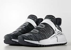 wholesale dealer 23a11 d4f85 Image is loading Adidas-Pharrell-Human-Race-HU-NMD-Trail-Oreo-