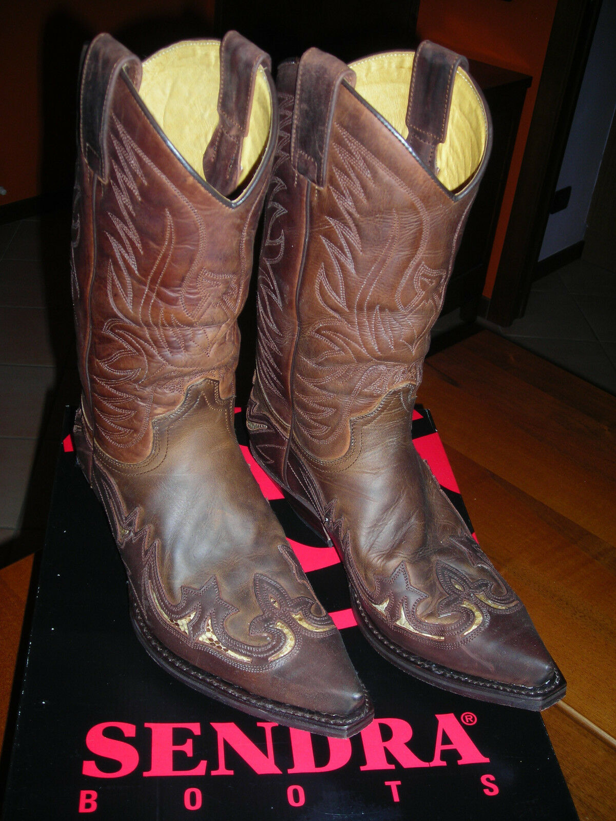 Sendra Boots Stivali,western,country,biker,harley davidson - US 8.5