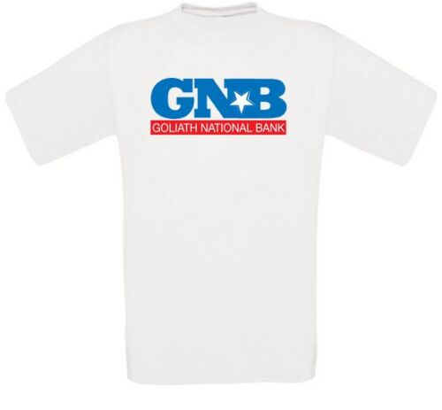 Gnb Goliath National Bank T-Shirt all Sizes New