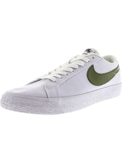 outlet store in stock many styles Nike Blazer Low SB Classic Retro Canvas White/gum Bottom Size 10 EUR 44