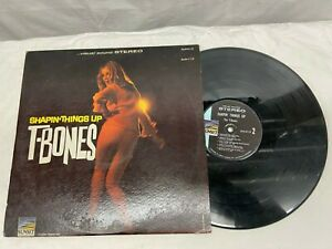 T-BONES  SHAPIN' THINGS UP VINYL LP SUNSET VG+ Free Shipping
