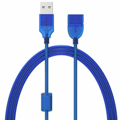Cord 1 ft USB 2.0 A Male to Female Extension Cable
