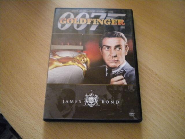 Goldfinger - James Bond 007 * DVD * Sean Connery, Gert Fröbe H6