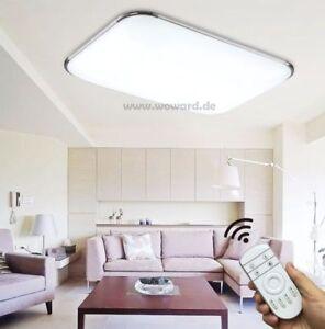 led deckenlampen decken leuchte 12w 90w w400 dimmbar. Black Bedroom Furniture Sets. Home Design Ideas