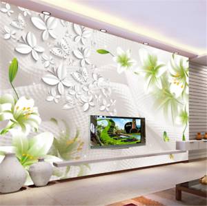 3D Green Bright Foliage 83 Wallpaper Mural Paper Wall Print Wallpaper Murals UK