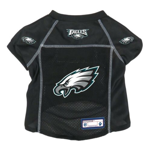 NEW PHILADELPHIA EAGLES DOG PET PREMIUM ALTERNATE JERSEY w//NAME TAG LE