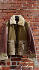 Schott Nyc 797S K-COOL Bomber Leather and Wool/waxed Jacket  Made In USA NWT